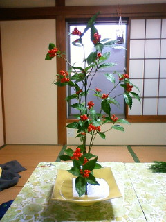 お正月のお花その1